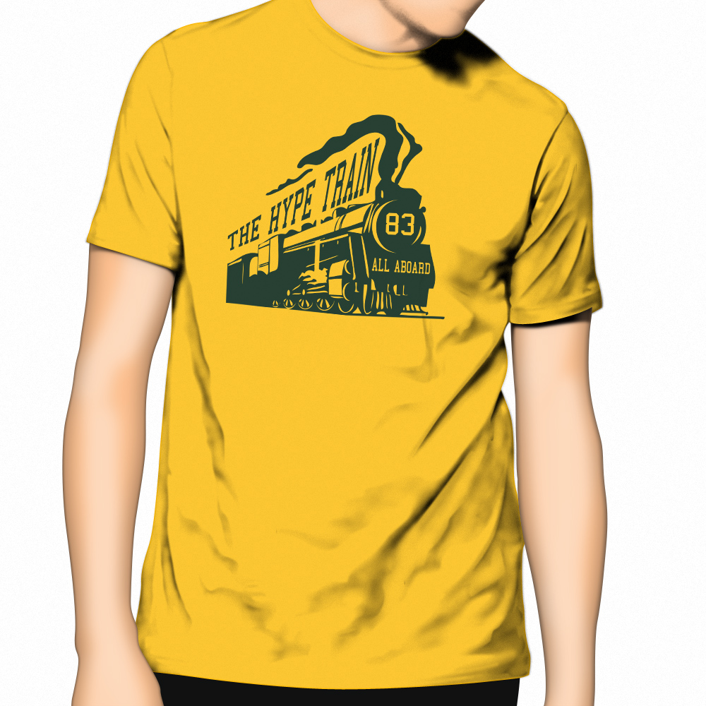 All Aboard Get Your Hype Train T Shirt In The Apc Store
