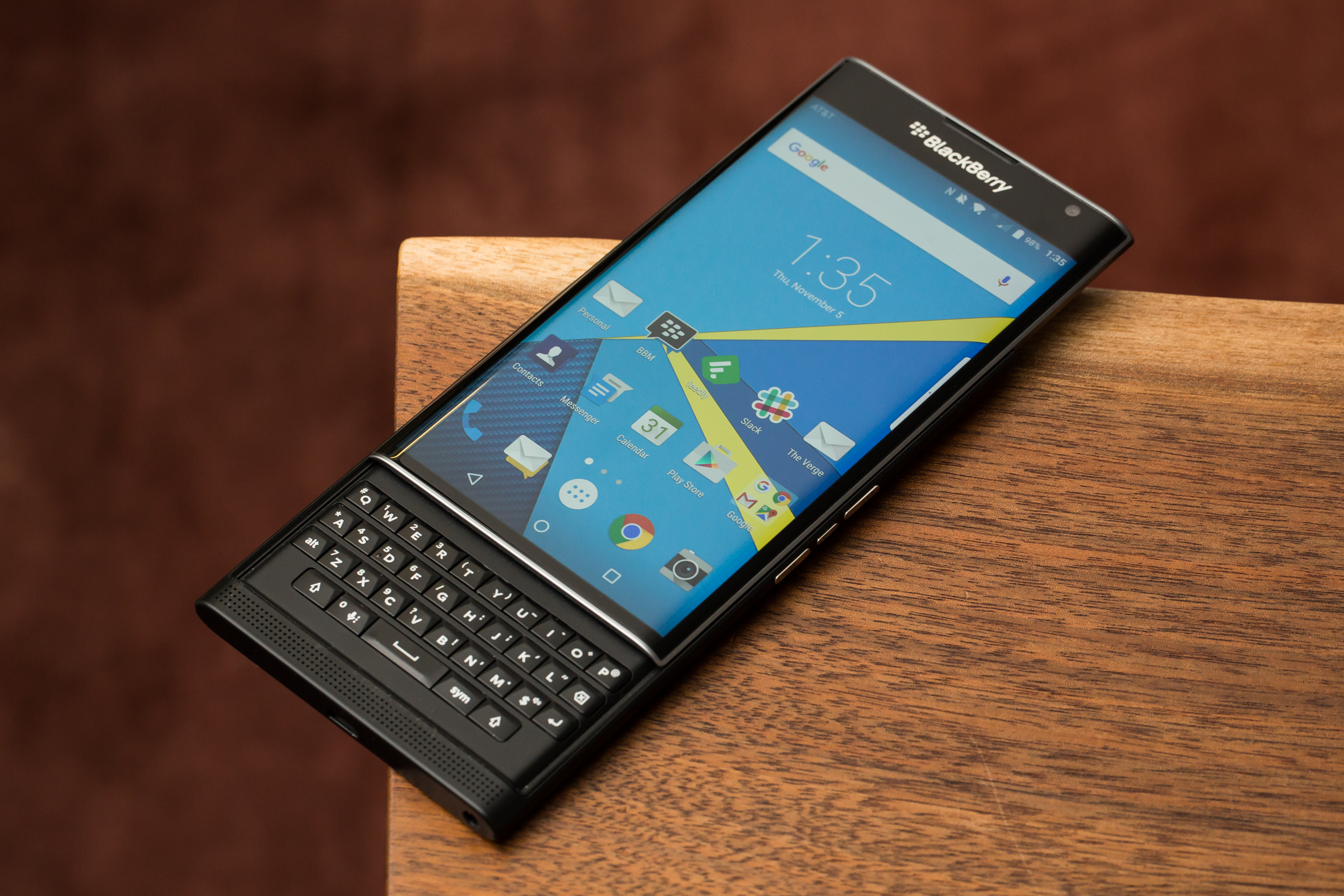 Blackberry Priv Review The Verge