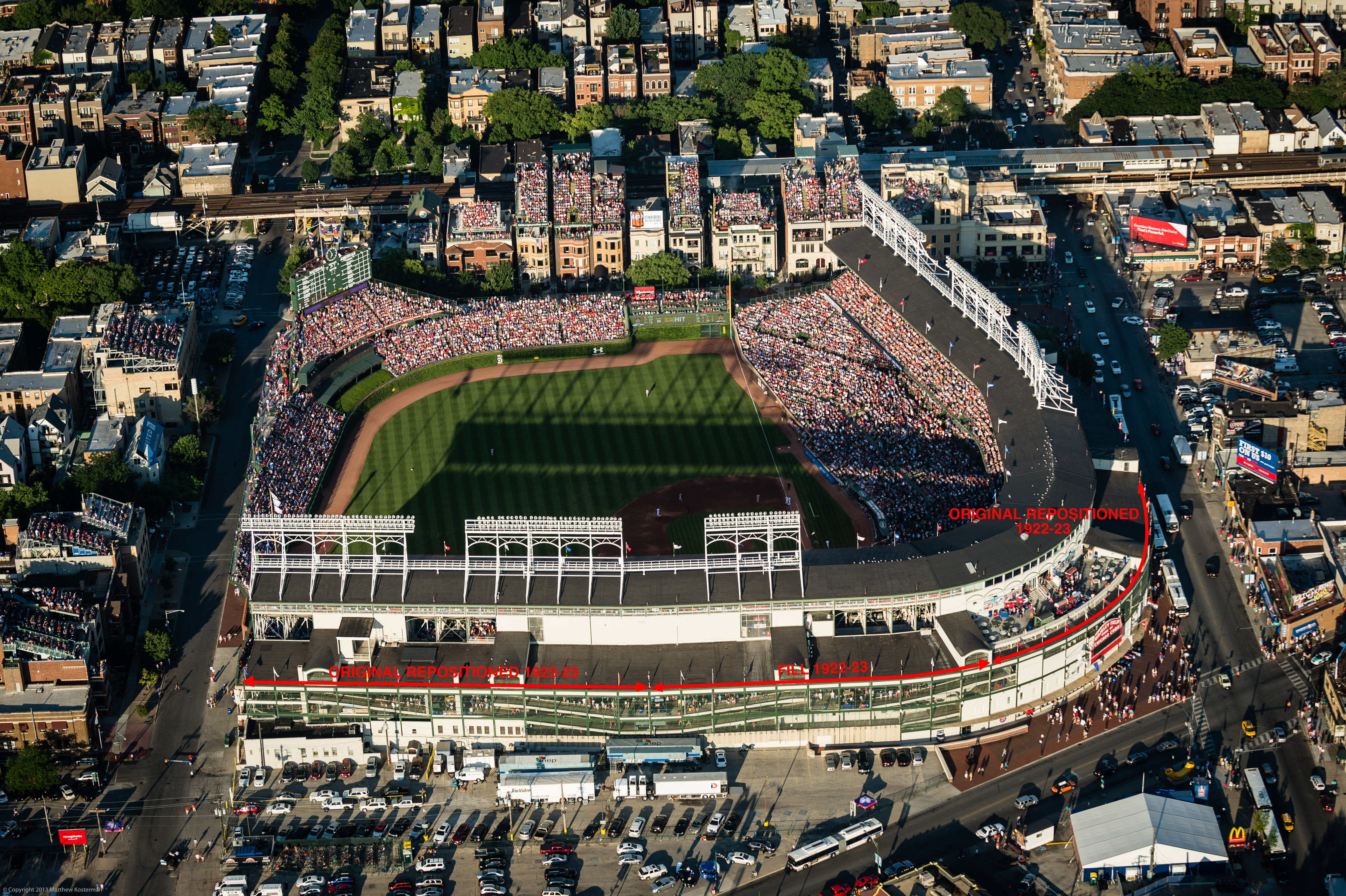 How Much Of Original Wrigley Field Will Be Left After The