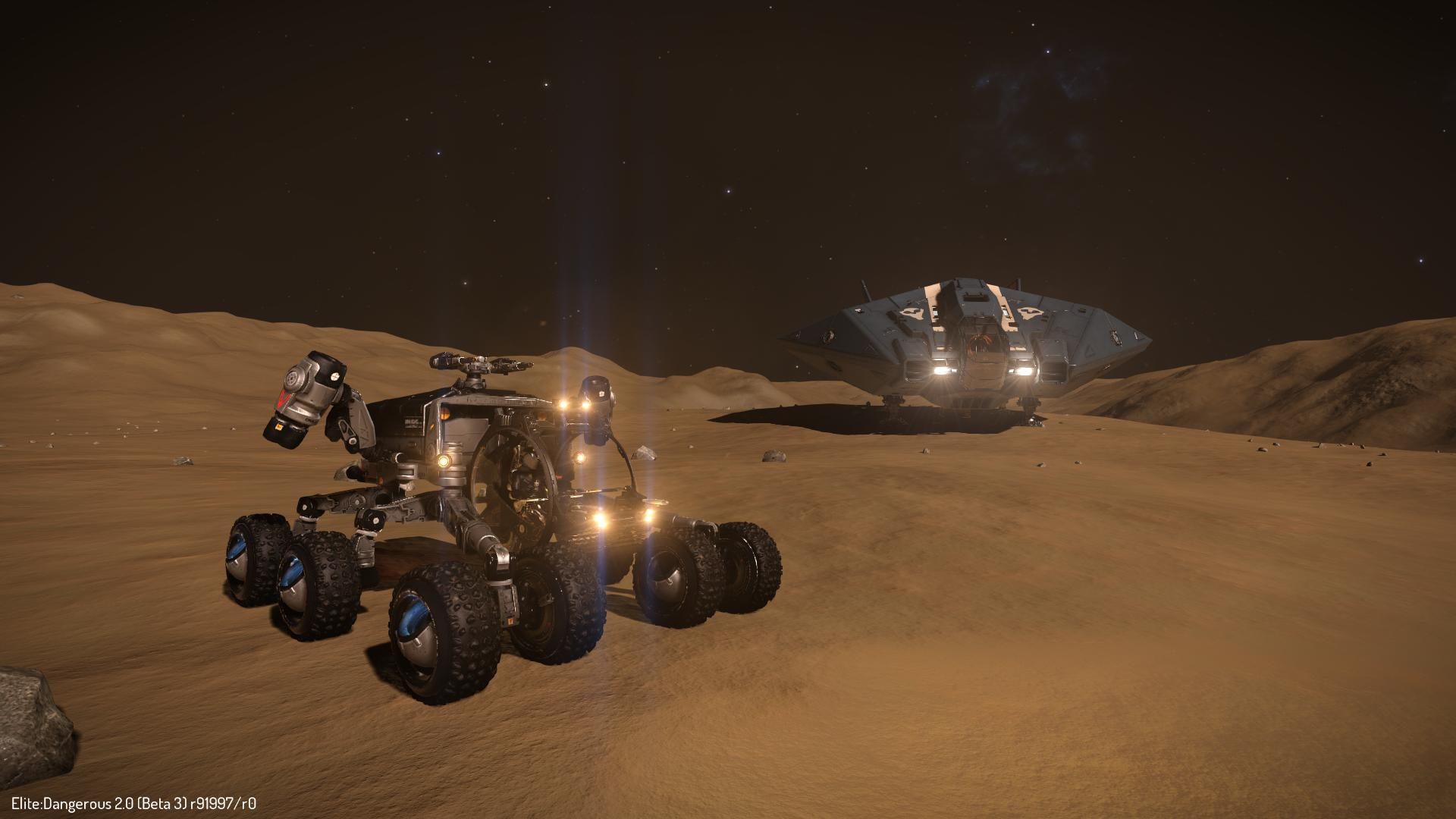 Stop waiting for those other space games, Elite: Dangerous