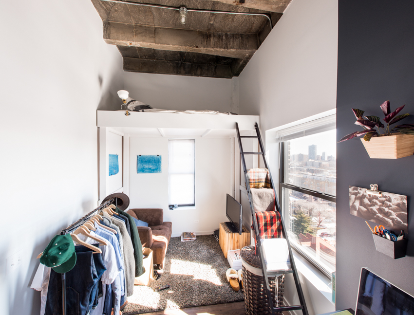 What It S Really Like To Live In A 300 Square Foot Micro
