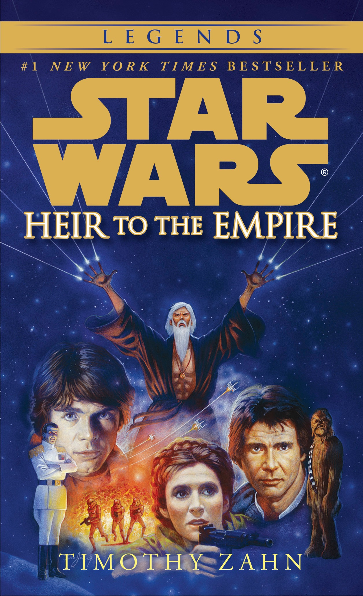 Heir to the Empire's cover
