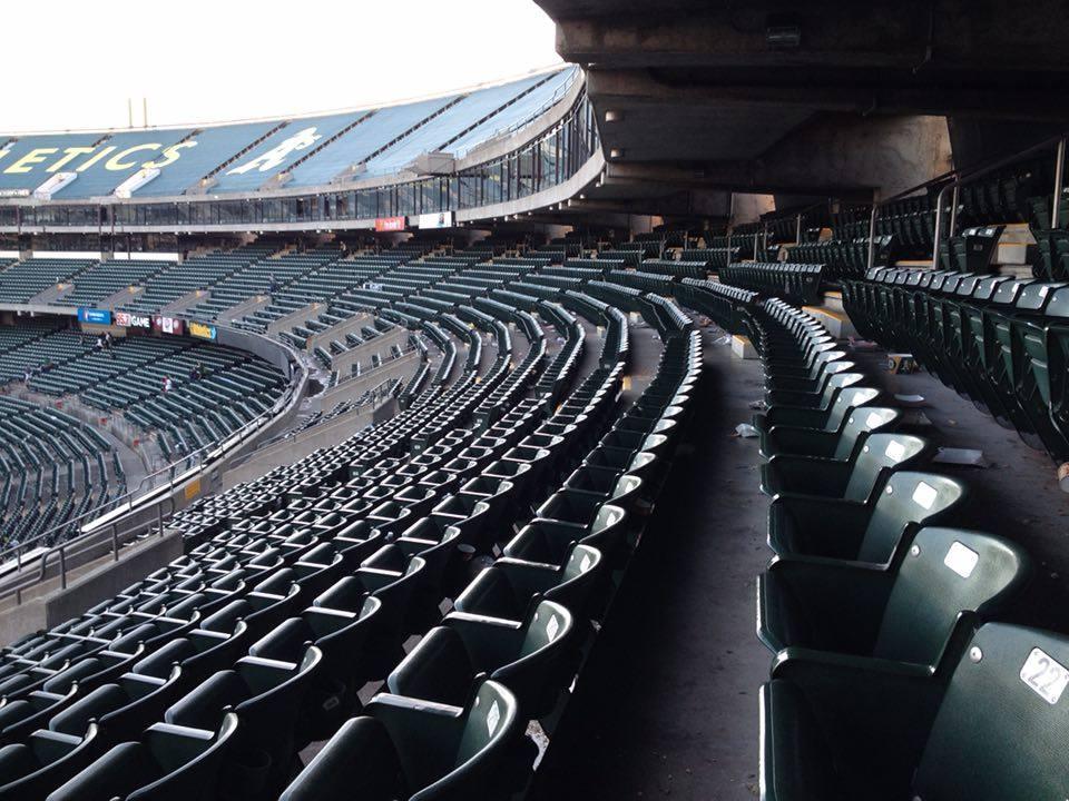 An Empty Coliseum