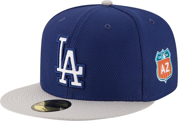 Both spring caps this year will feature a Cactus League logo of a highway  sign with  AZ  on the left side of the cap. 3e25388be3e