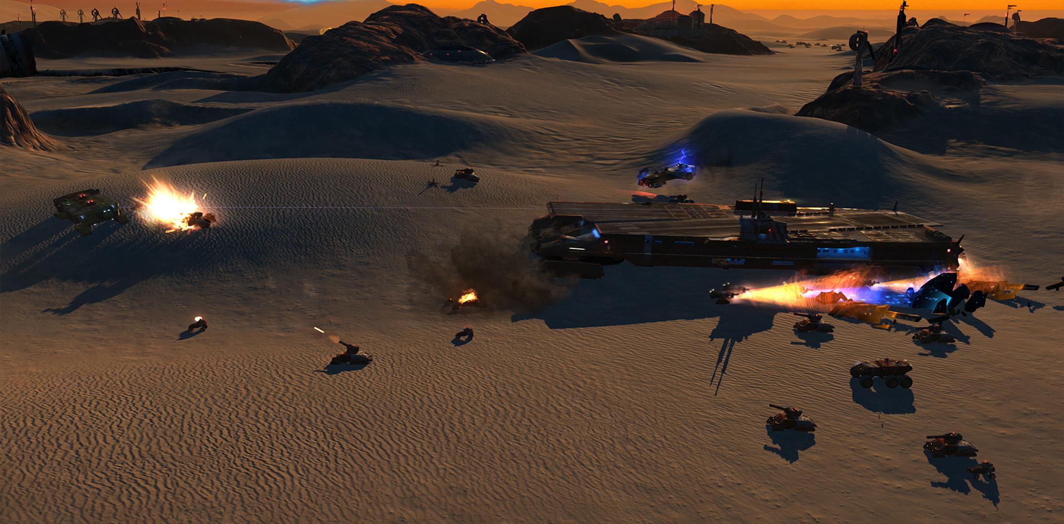 Homeworld: Deserts of Kharak review screen b