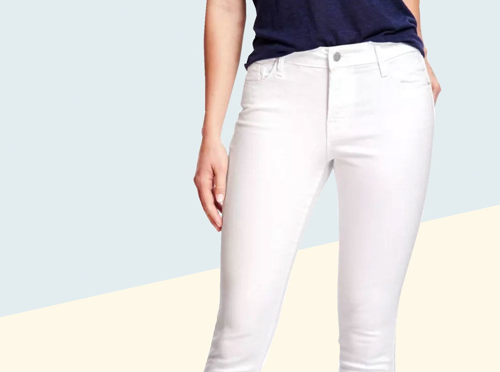 Bold Claims From Old Navy: Stain-Resistant White Jeans - Racked