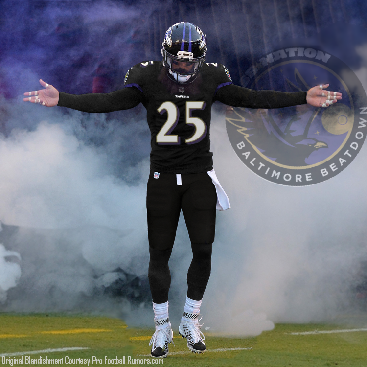 For Tray Walker: How Eric Weddle can honor #25 - Baltimore Beatdown