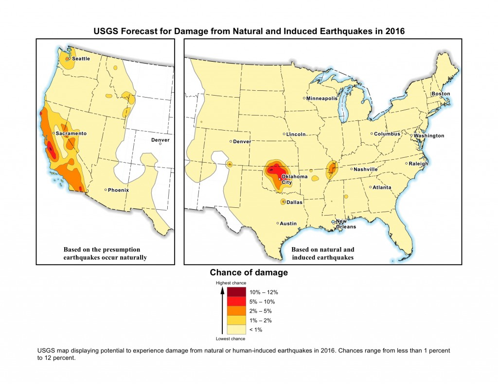 7 million americans are now at risk from man made earthquakes says usgs vox