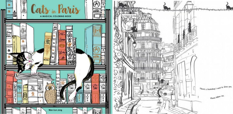 4 For A Romantic Cats Tour Of Paris In By Won Sun Jang
