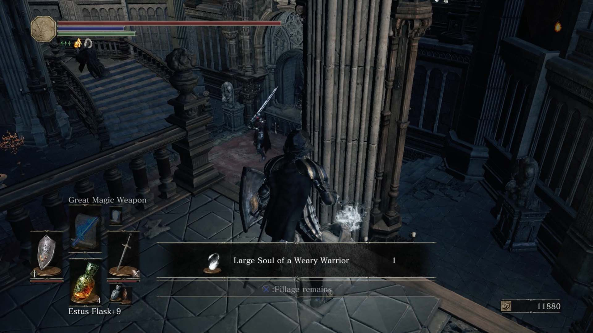 Dark souls 3 lothric castle walkthrough polygon grab the symbol of avarice and three titanite scales after defeating it there are also some titanite scales in the tiny courtyard outside the reading area biocorpaavc Gallery