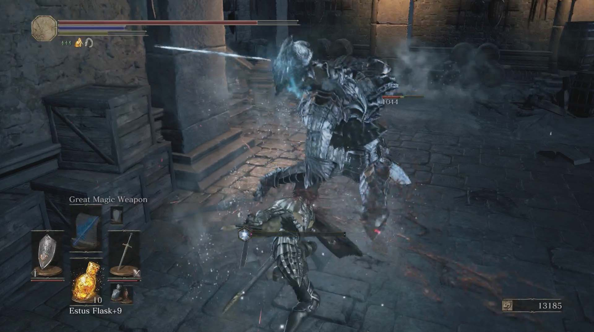 Dark souls 3 lothric castle walkthrough polygon the downward stairs to the right of the doorway you just passed through leads to a boreal outrider knight it moves on fours like vordt of the boreal valley biocorpaavc Gallery