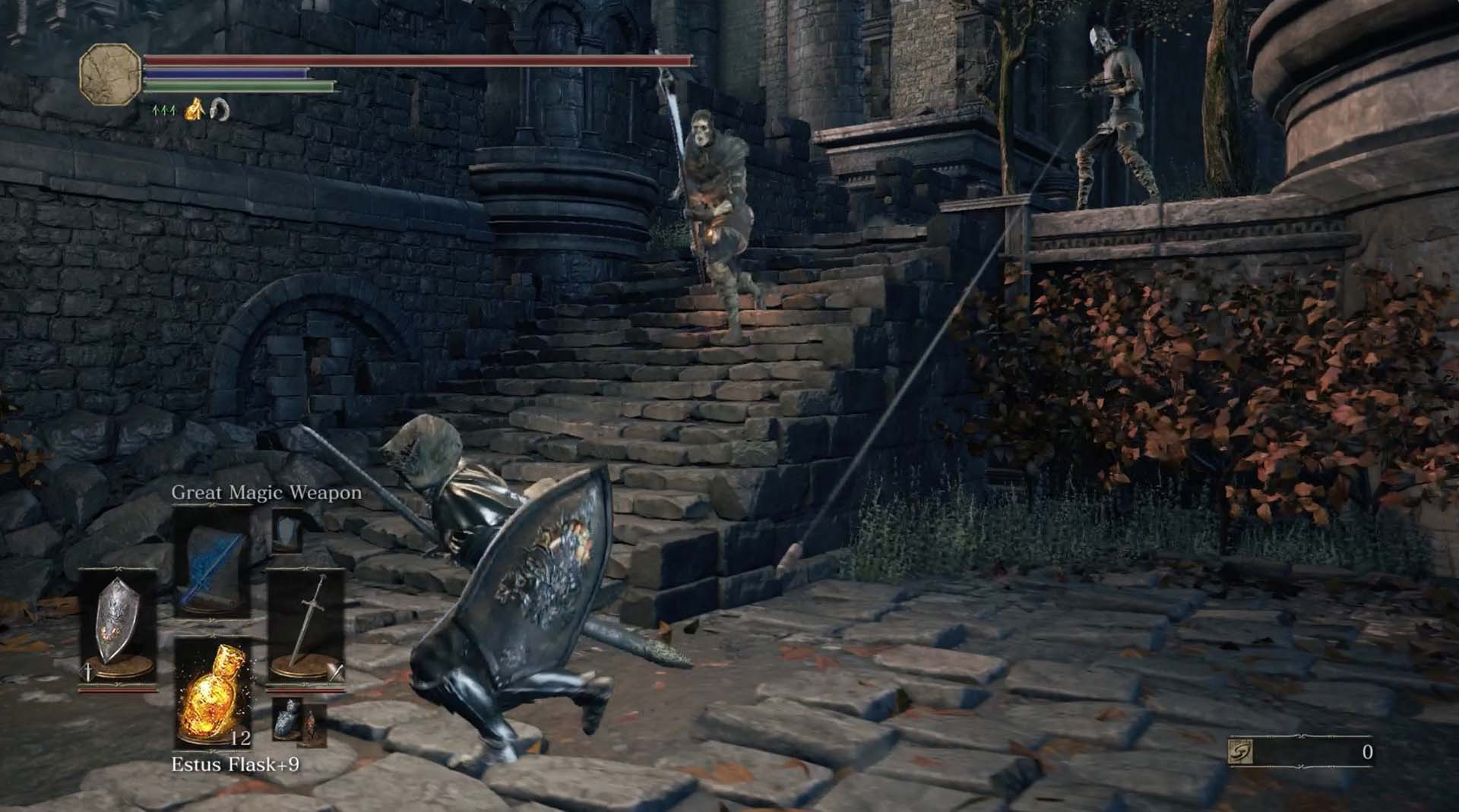 Dark souls 3 lothric castle walkthrough polygon to get back on the critical path drop down again to the first ledge below the bridge head left where youll find four hollow soldiers biocorpaavc Gallery