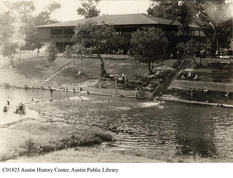 Barton Springs Then And Now In Pictures Curbed Austin
