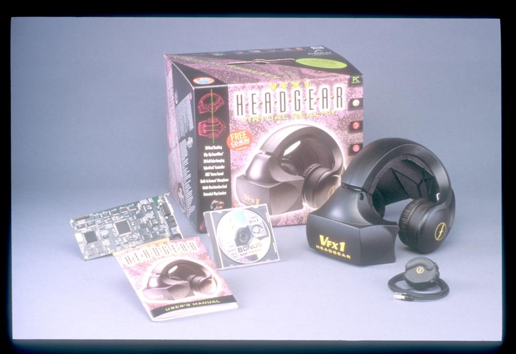 VFX1 Headgear virtual reality system
