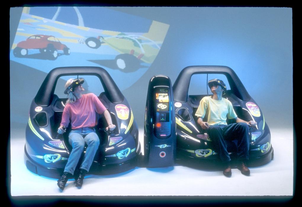 Virtuality VR arcade pods