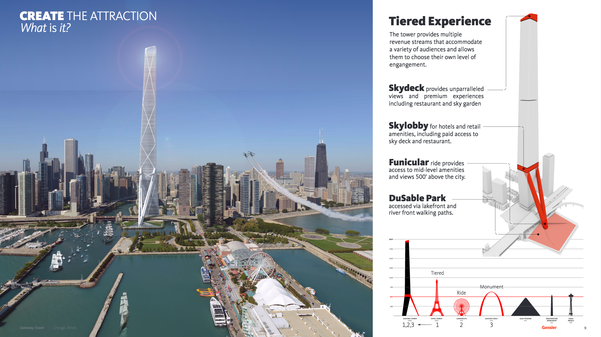 A Look At Gensler S 2 000 Foot Conceptual Design For The