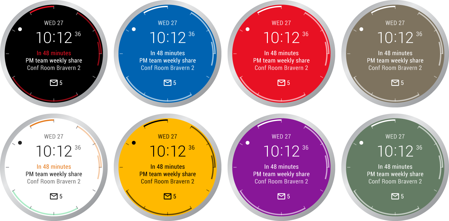 Facer android wear - Microsoft Made A Powerful Outlook Watchface For Android Wear