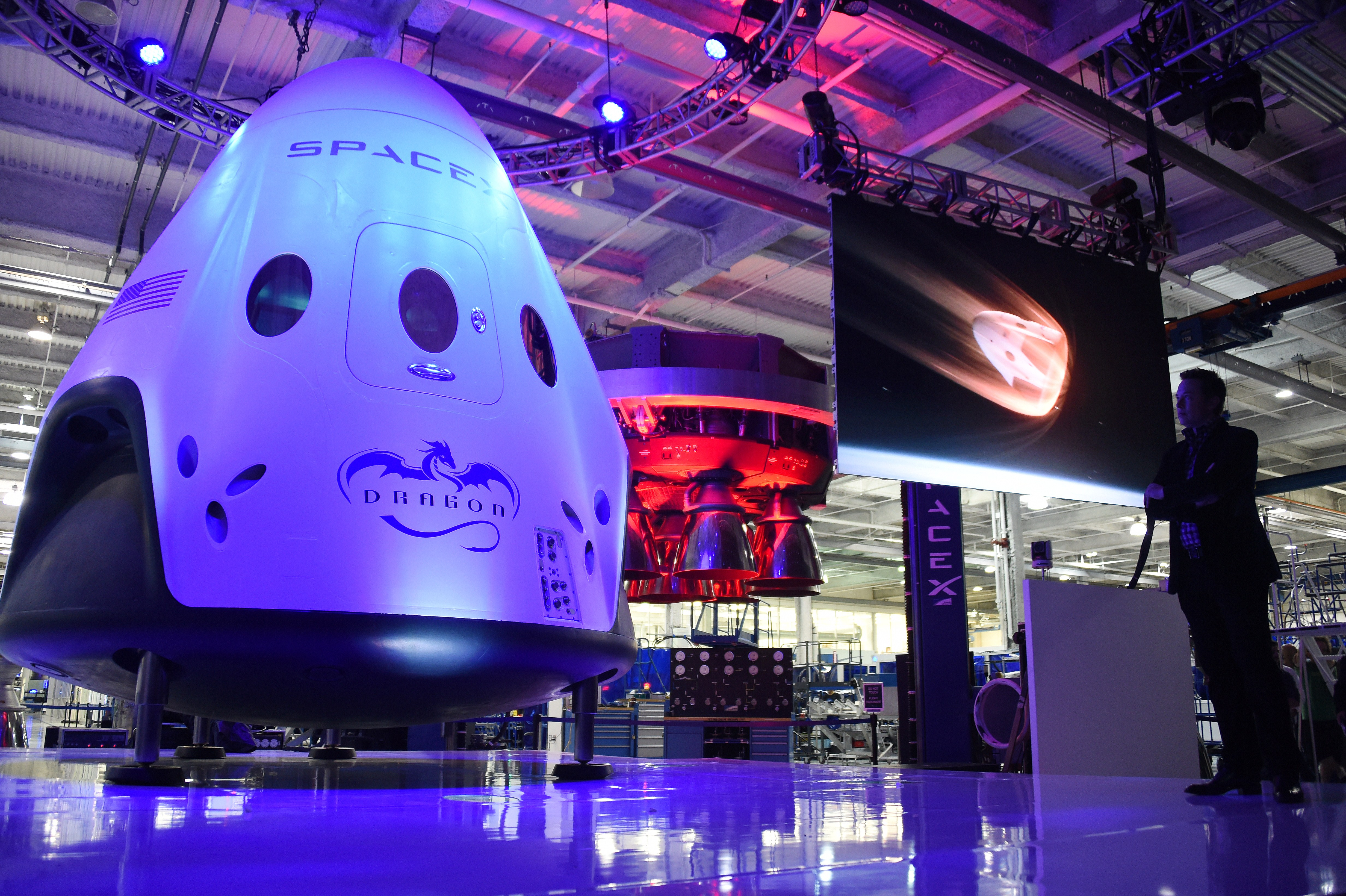 NASA picked the two private spacecraft to replace the ...