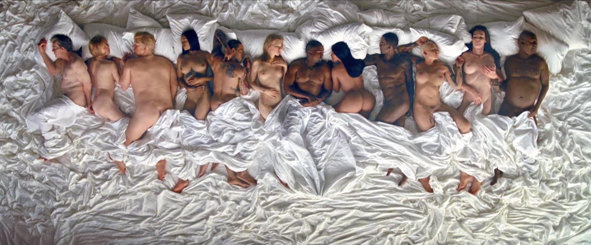 Kanye West's video for Famous is damn genius clickbait