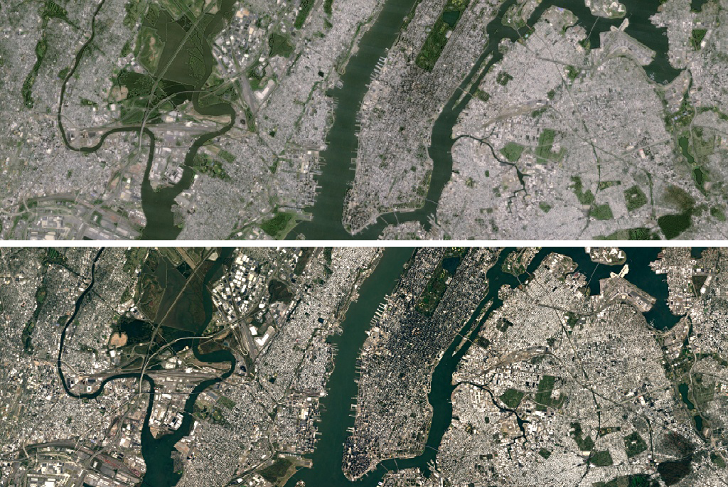 Google updates Maps and Earth apps with super sharp satellite ...