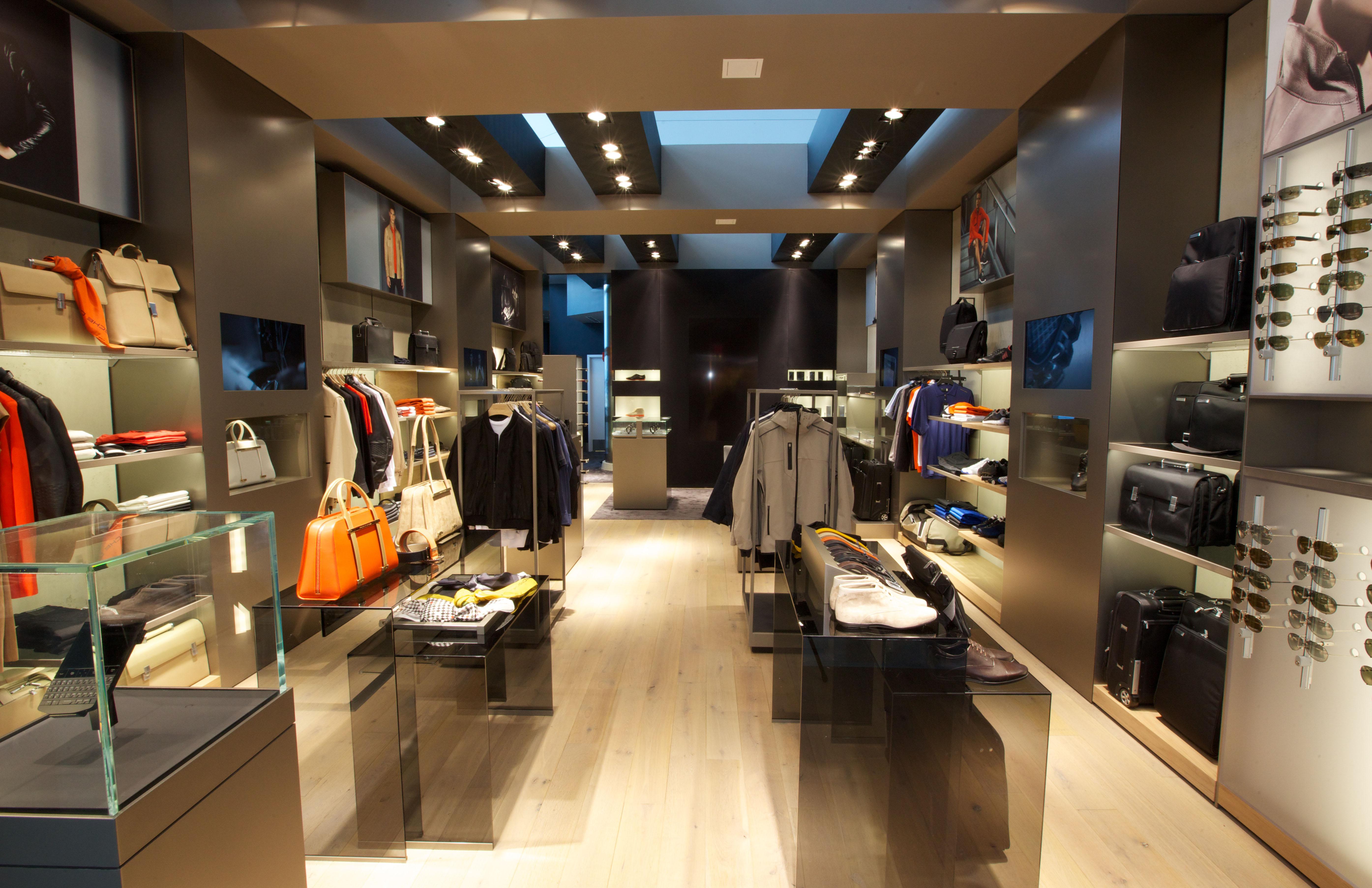 Porsche clothing store