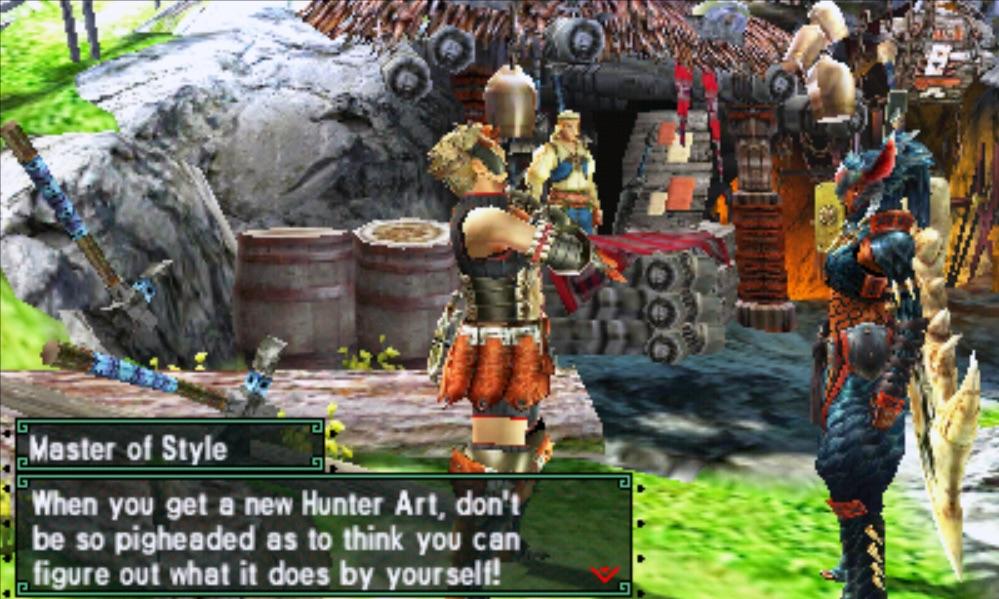 Monster Hunter Generations Guide Hunter Arts And Hunter Styles