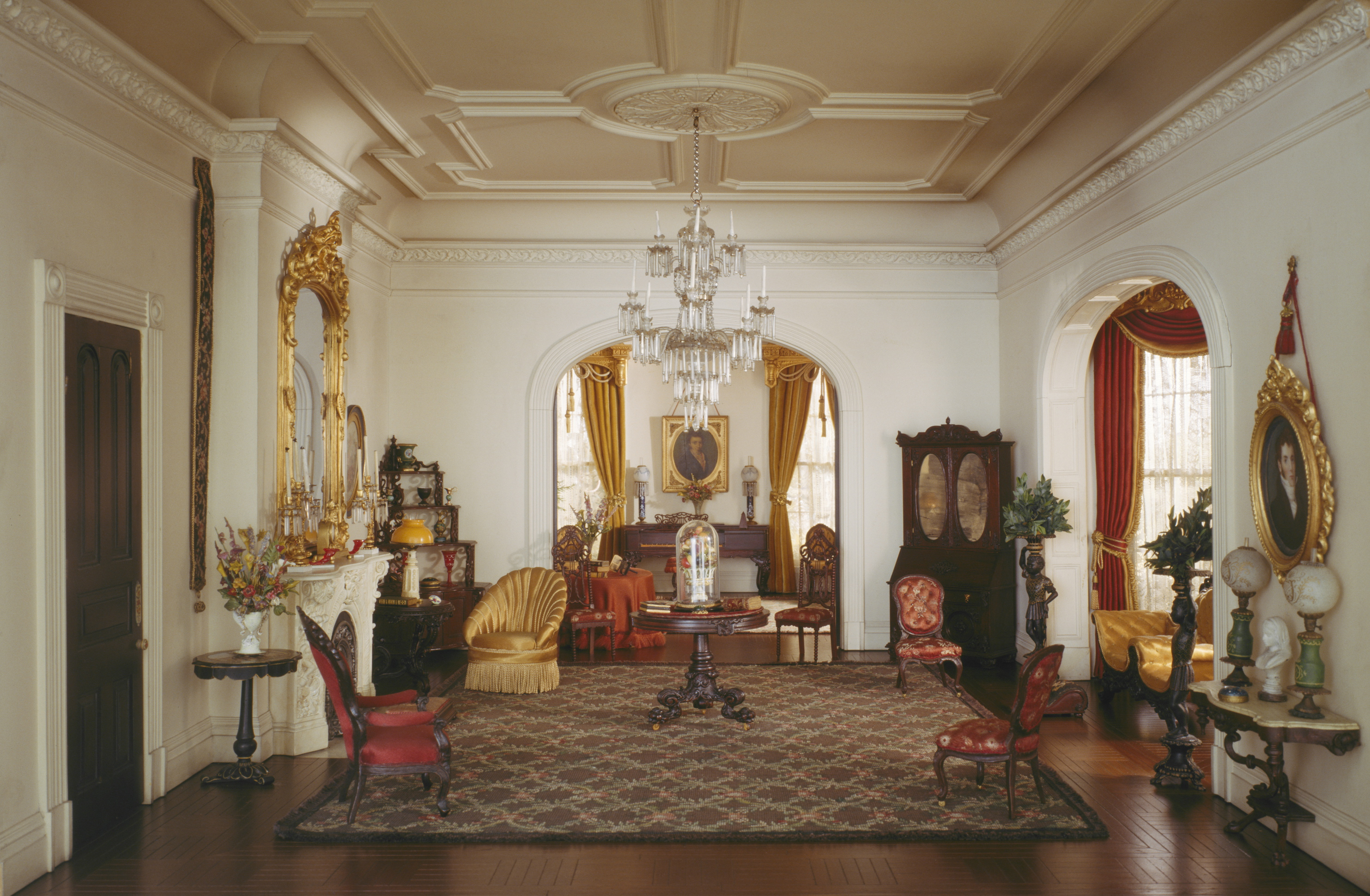 Rooms: Meticulous And Miniature: The Thorne Rooms Of The Art