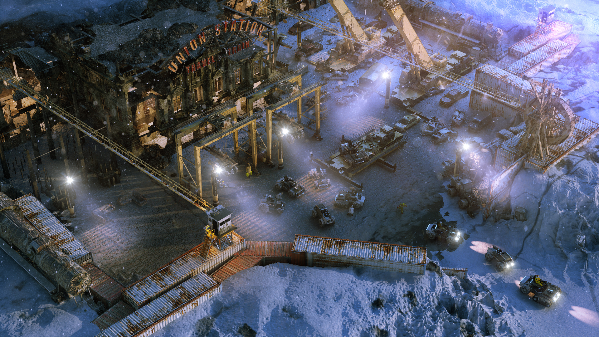 Wasteland 3 Announced, Features Co-op and Vehicles