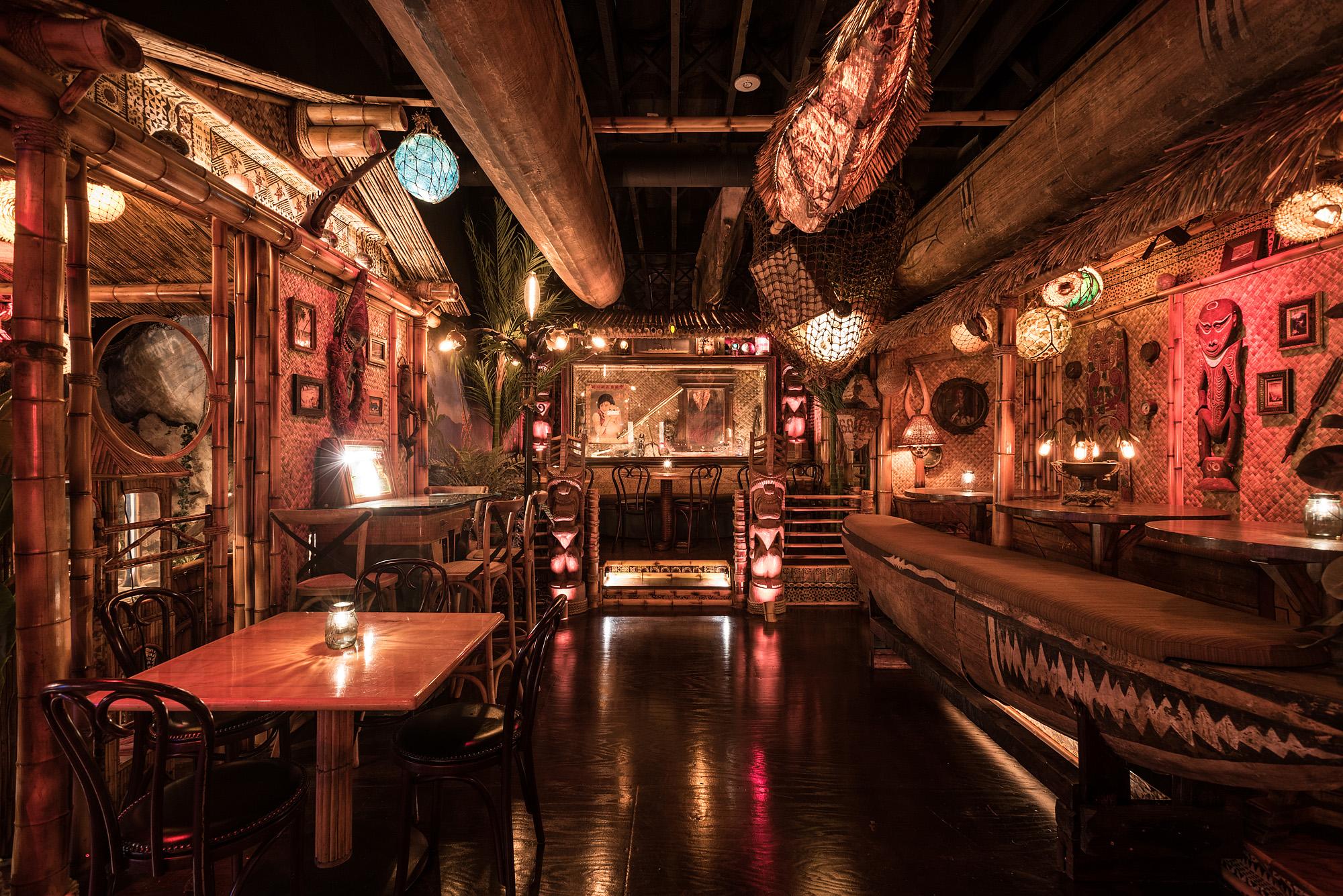 Inside La S Incredible New Tiki Palace Eater La