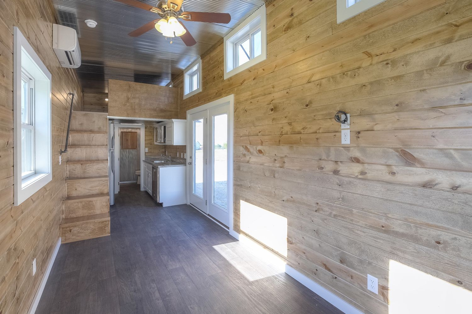Slick tiny house converted from 40 foot shipping container Curbed