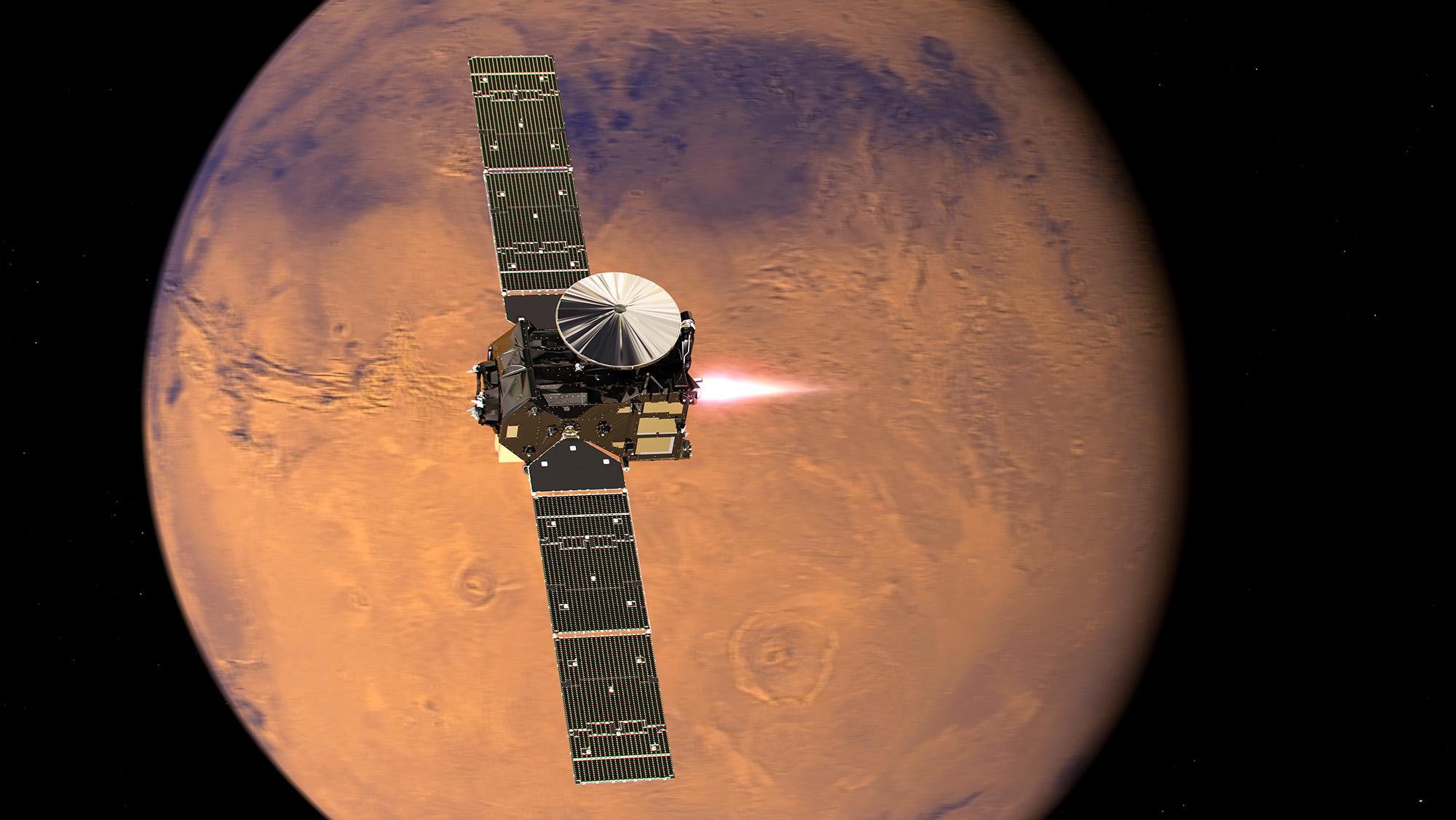 'Life on Mars' lander aims for risky touch down on red planet