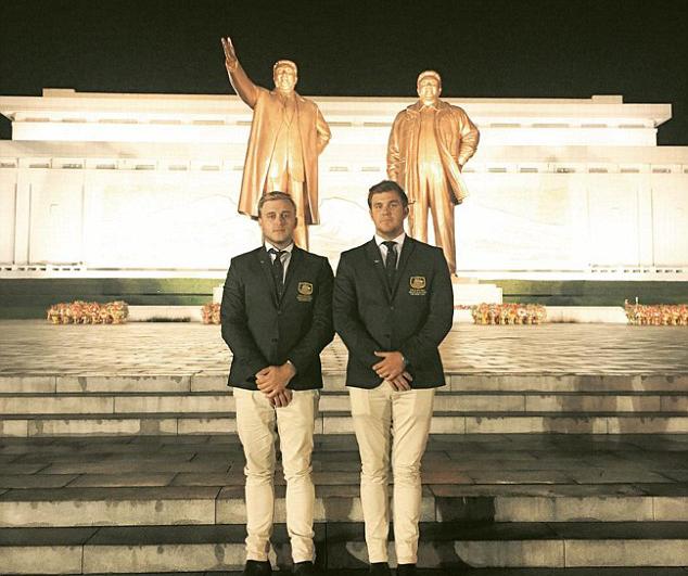 Aussie lads con way into North Korean Open