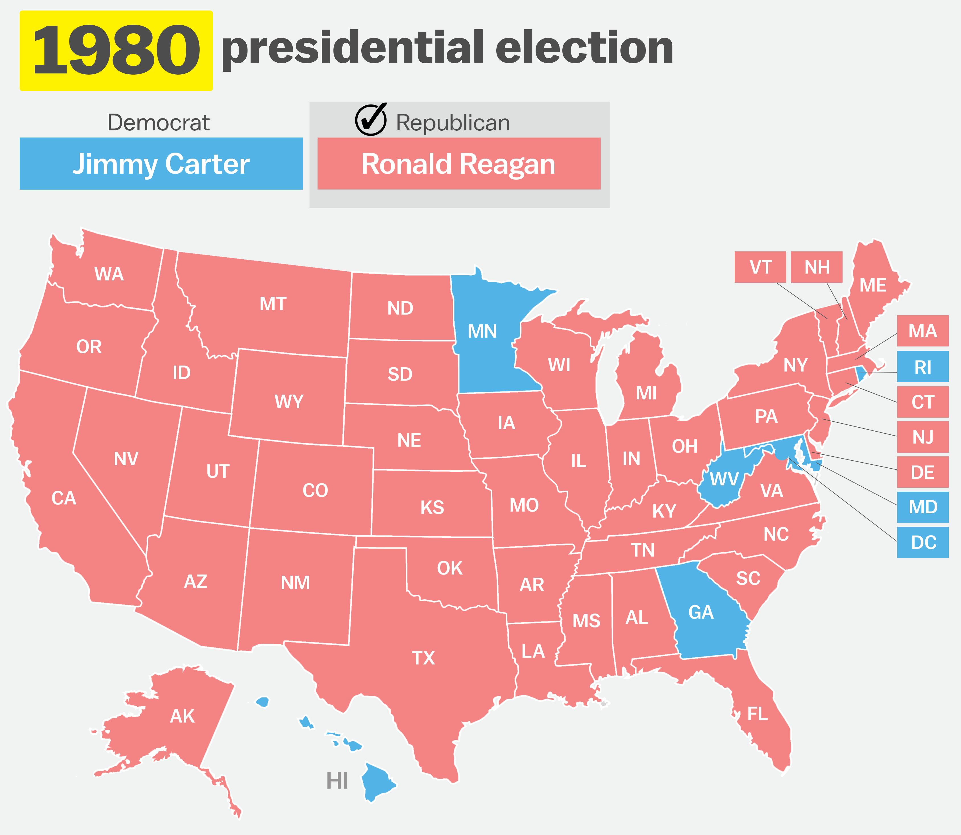 politics maps ronald reagan - photo #25