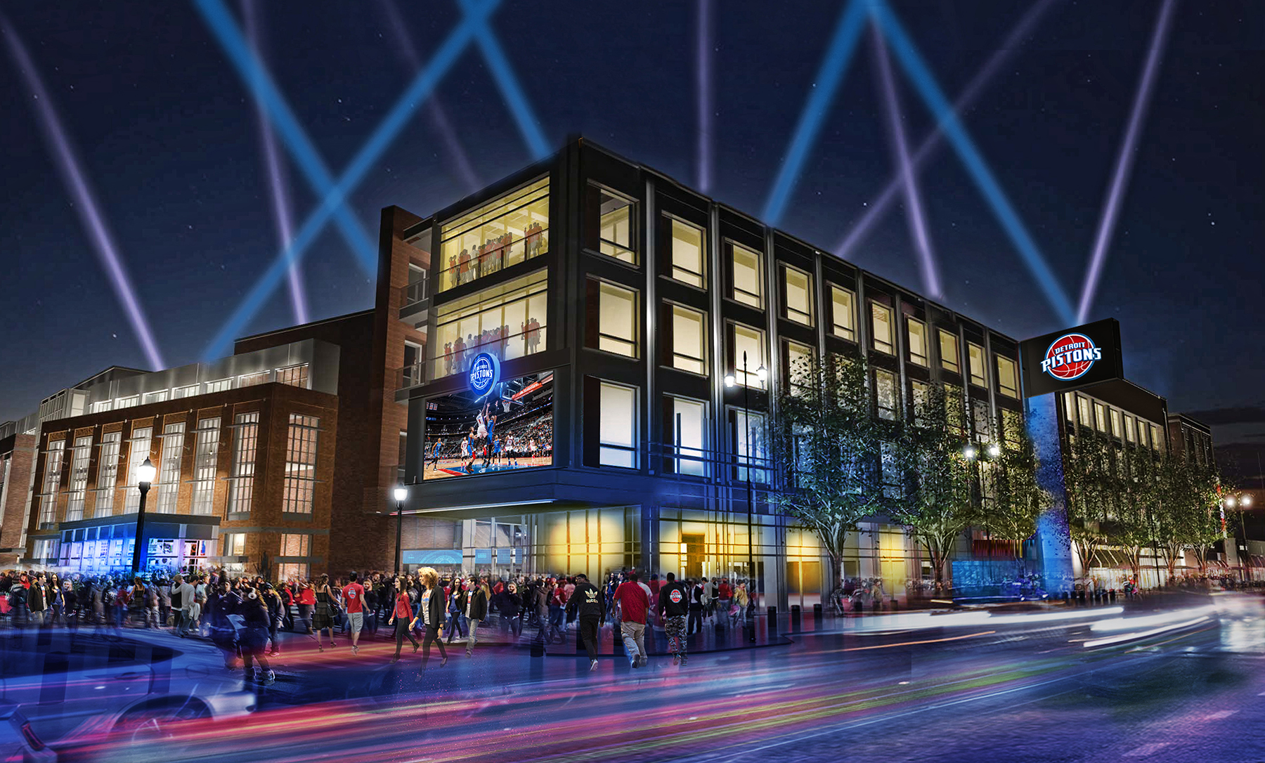 Detroit Red Wings Arena >> Here's what Detroit basketball will look like in Detroit - Curbed Detroit