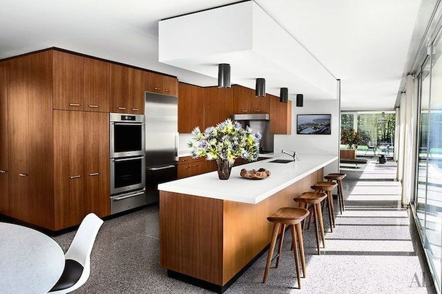 attractive mid century modern kitchen Part - 5: attractive mid century modern kitchen awesome design