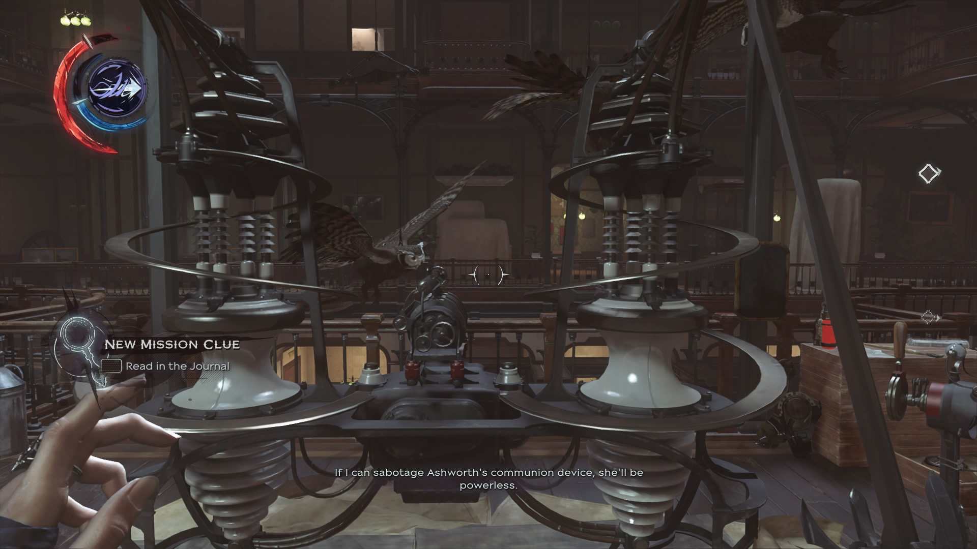 Dishonored  Conservatory Security Room