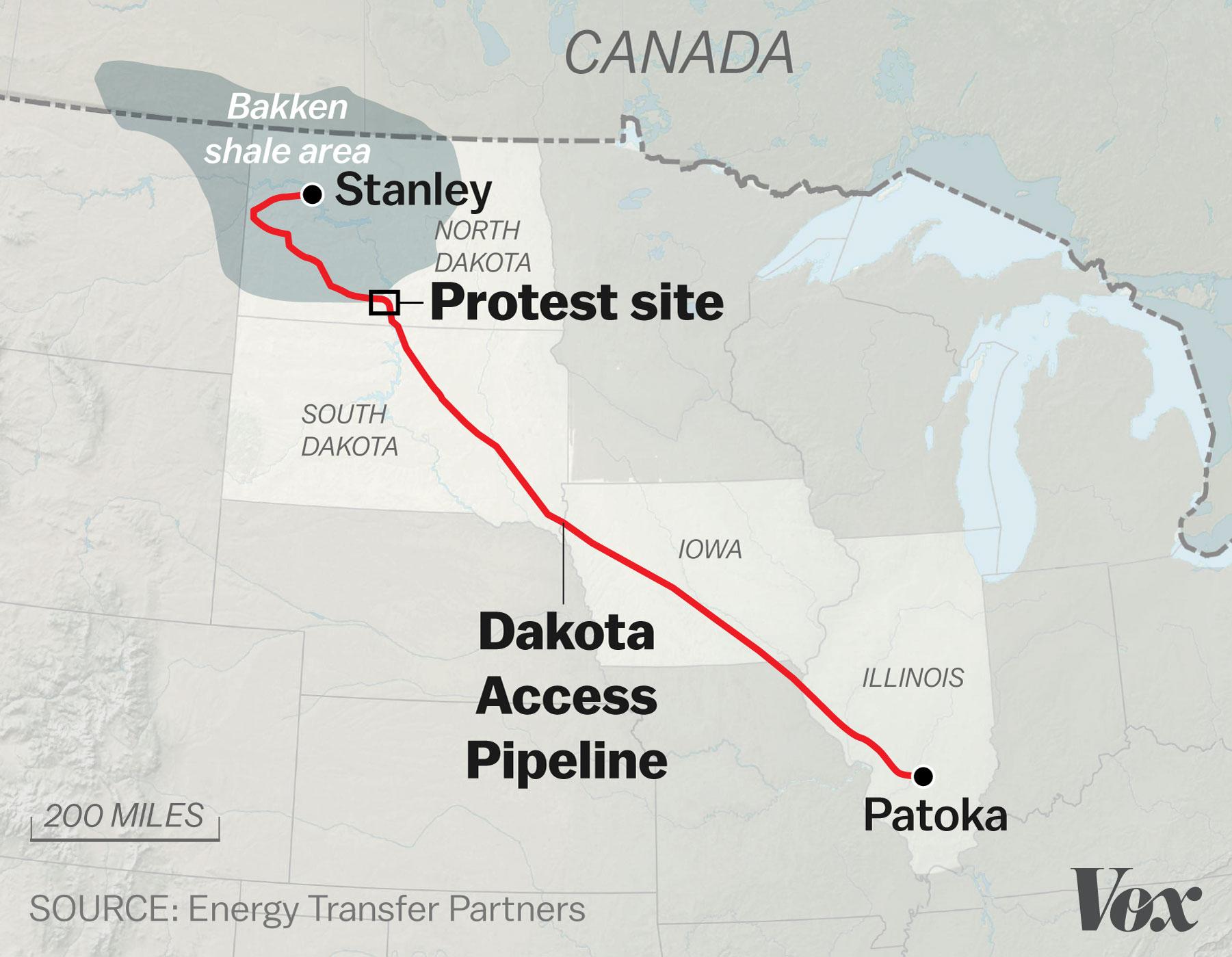 The Battle Over The Dakota Access Pipeline Explained  Vox