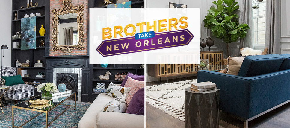 New orleans based interior designers cast in the property for Local home interior designers