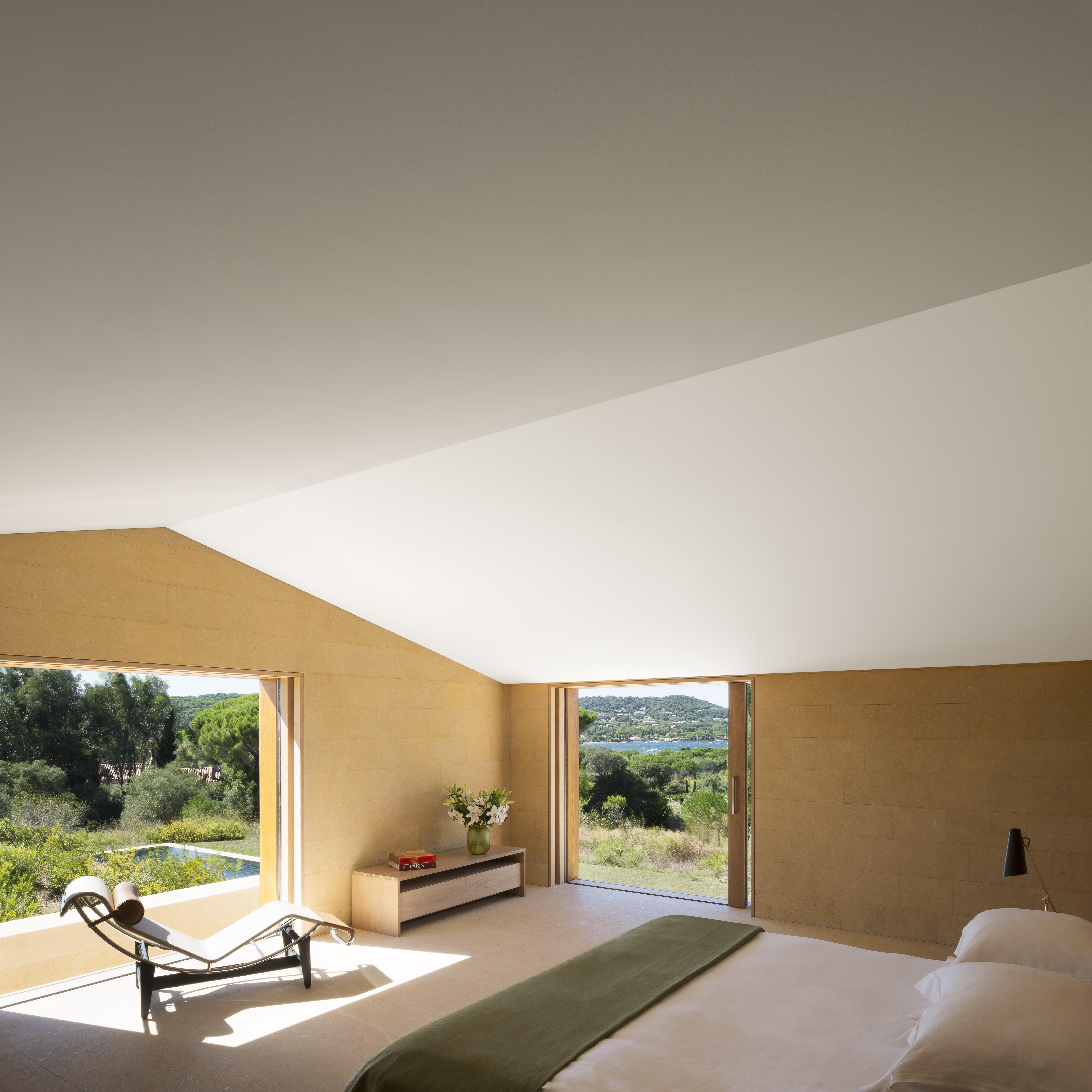 Minimalist Villa Excellent Minimalist Portugese Clifftop