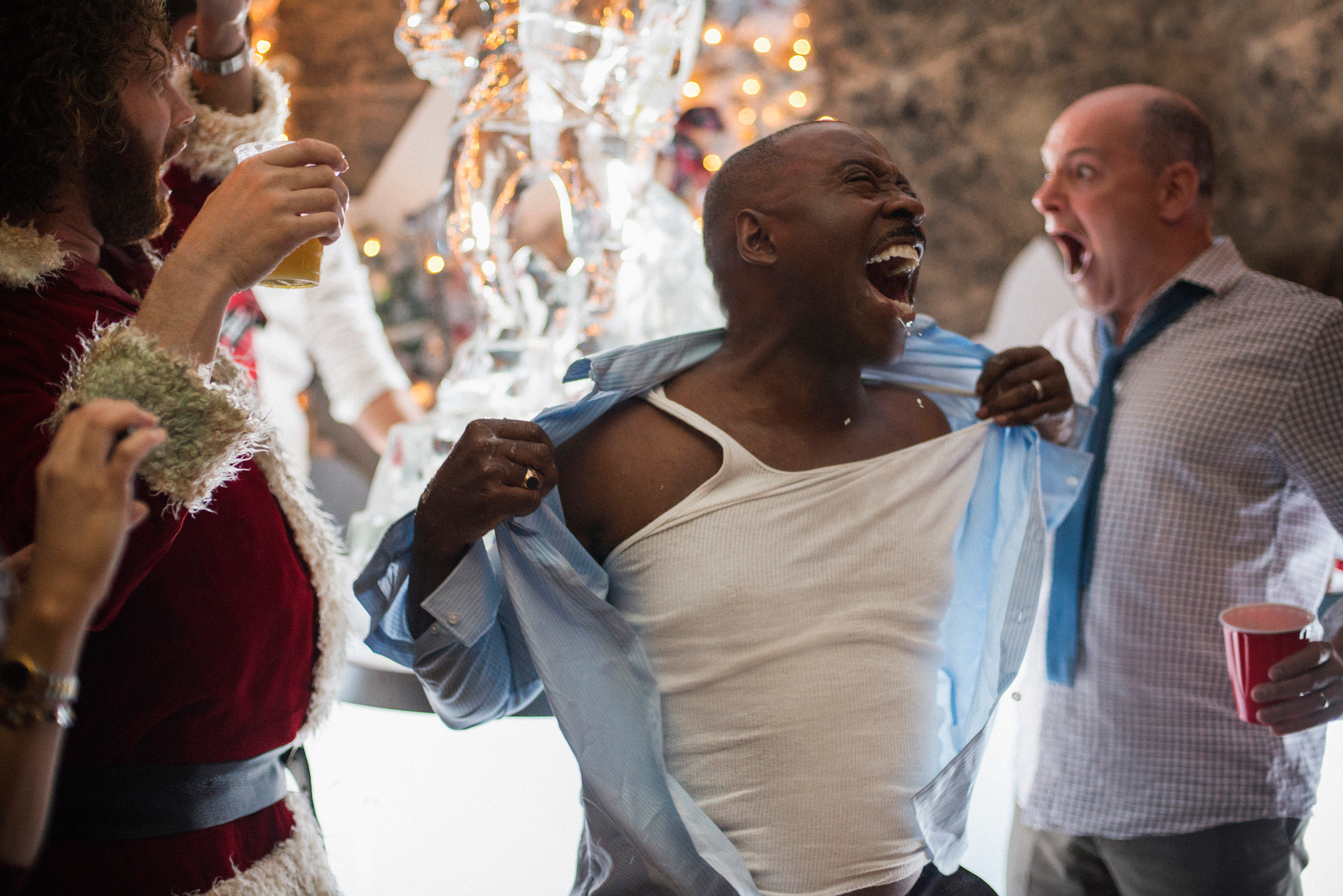 office christmas party s talented cast is its best feature and courtney b vance in office christmas party