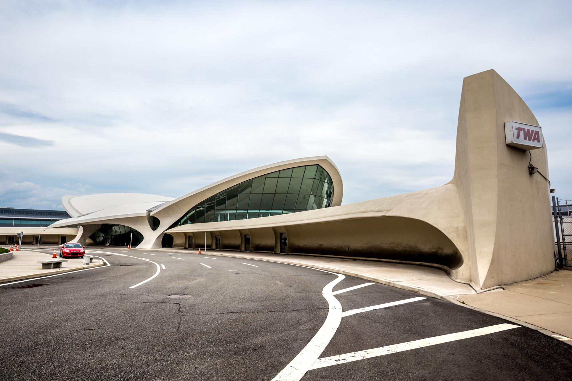 twa terminal hotel celebrates groundbreaking with a new rendering