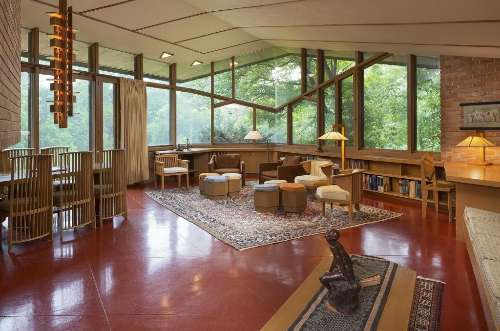 9 best frank lloyd wright homes for sale in 2016 curbed frank lloyd wright interiors images amp pictures becuo