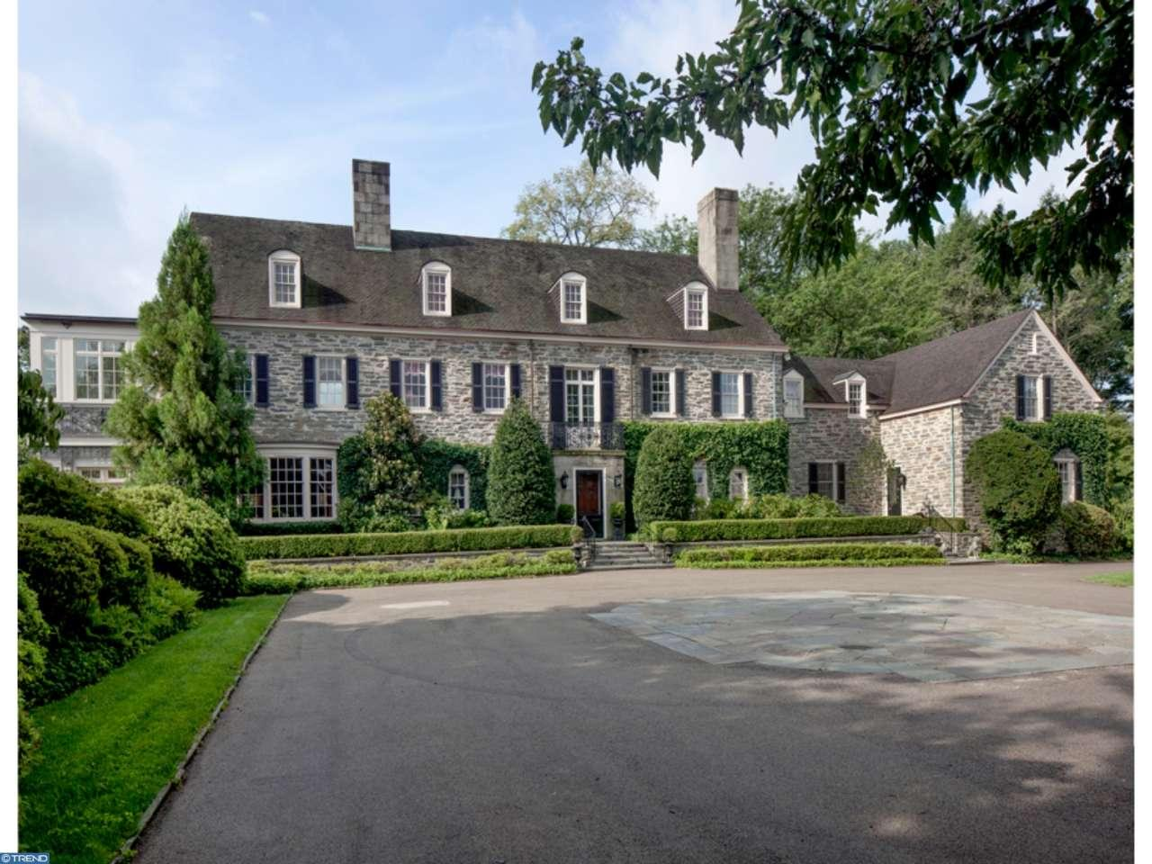 Extravagant Gladwyne Mansion Re Lists With 4 3m Price