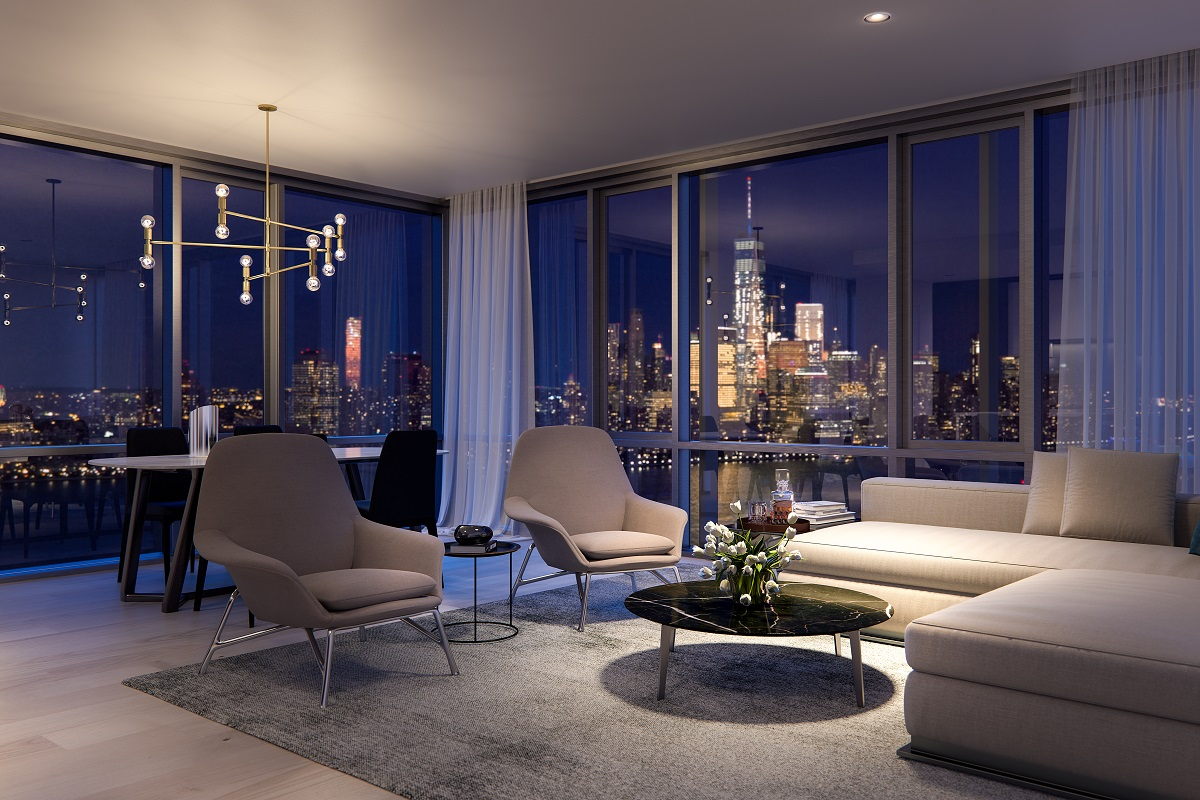 Jersey City S Ultra Luxury Condo Development Park And