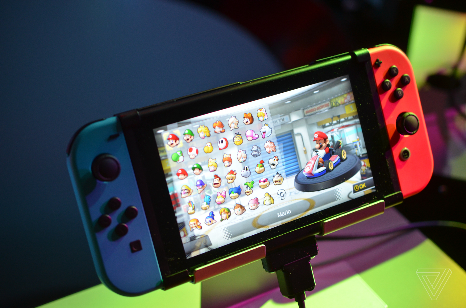 A Closer Look At The Nintendo Switch The Verge