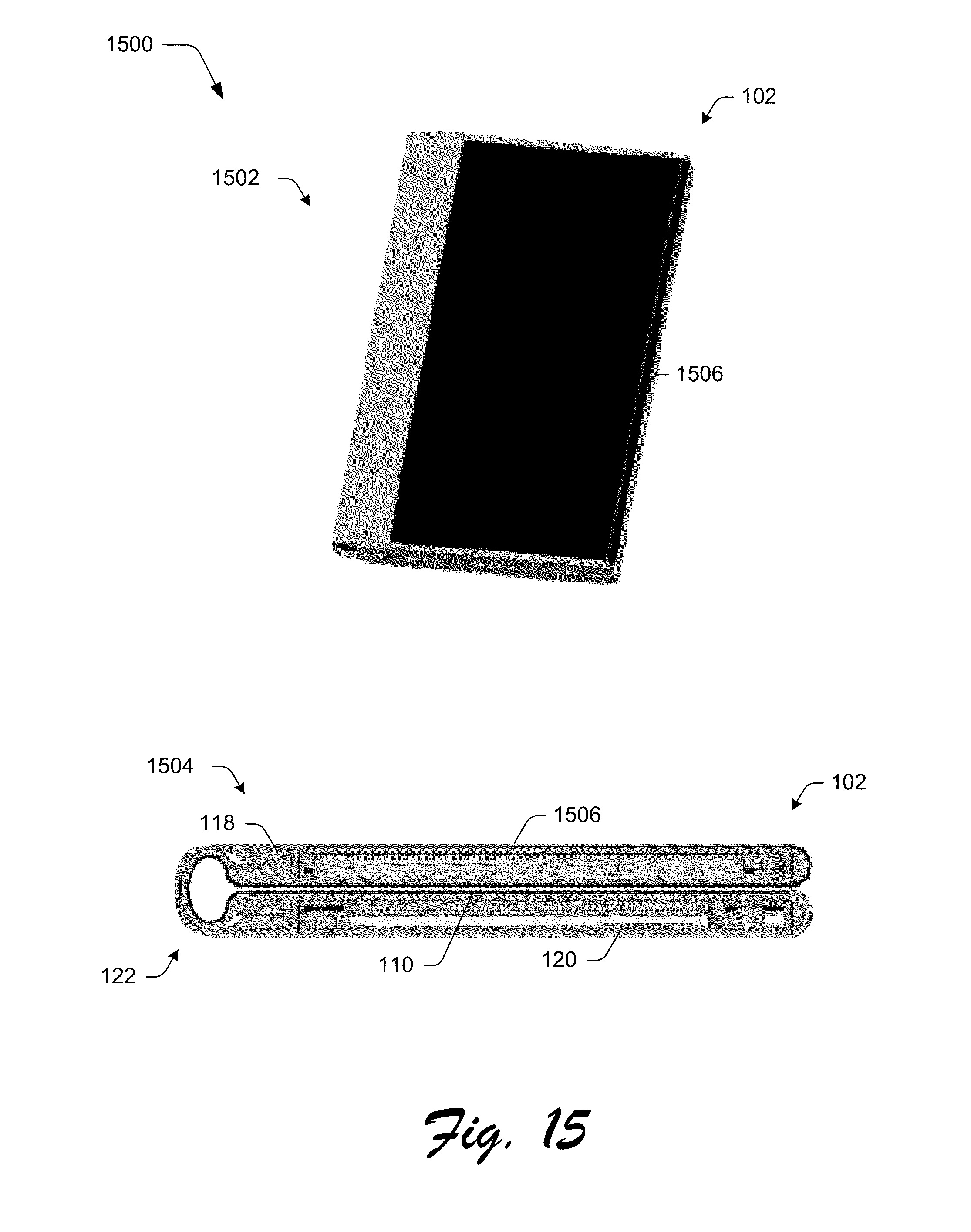 Microsoft patent reveals foldable phone that turns into a ...