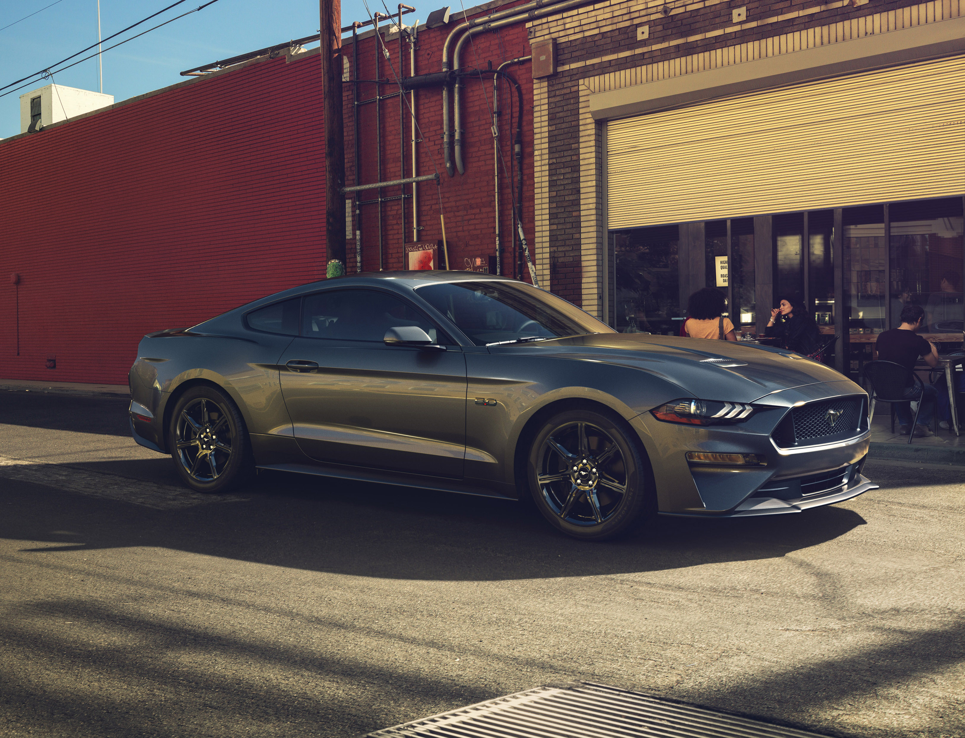 Ford S Newest Mustang Drops The V6 Engine For First Time In Decades Verge