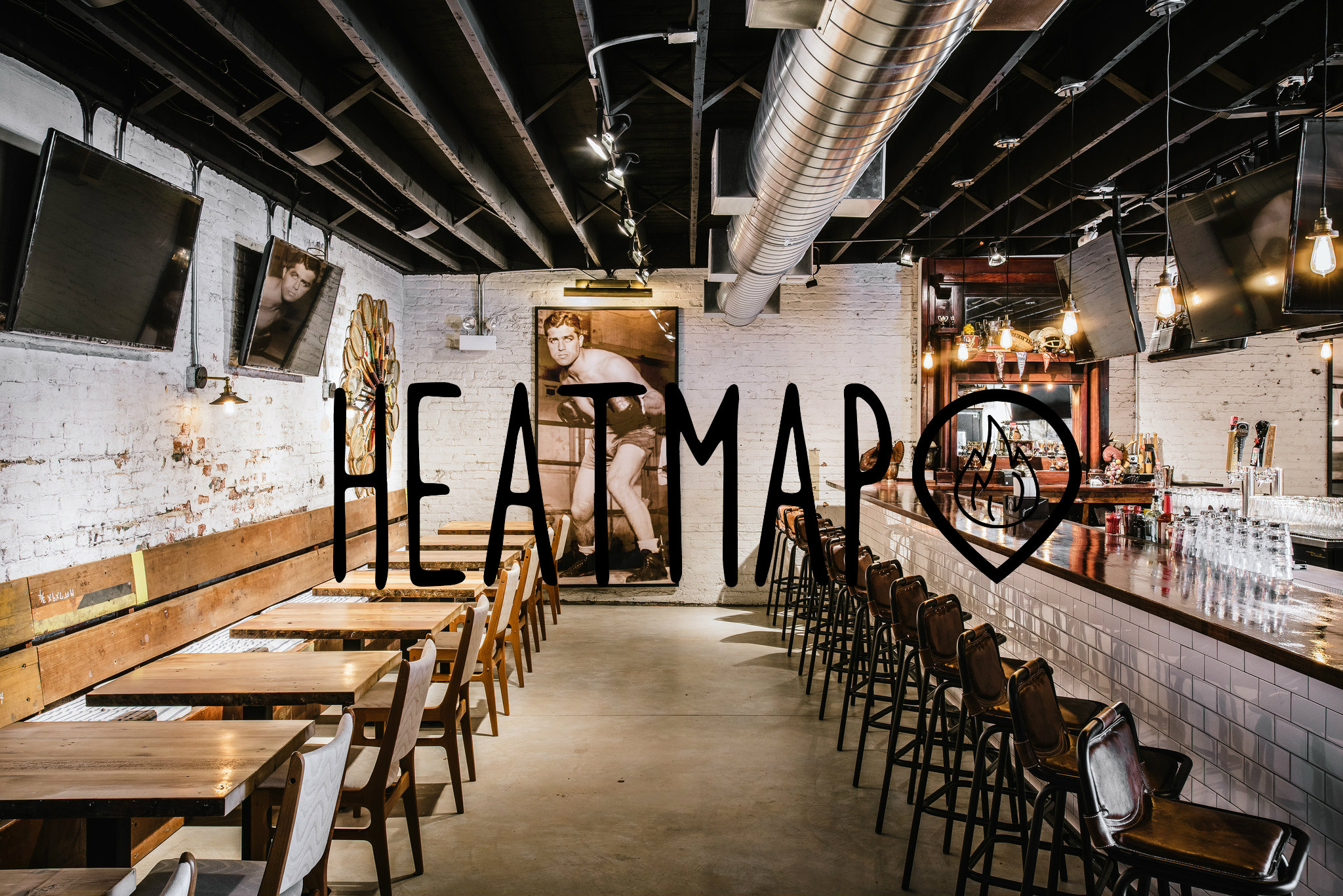 Eater Heat Map map of colombia south america