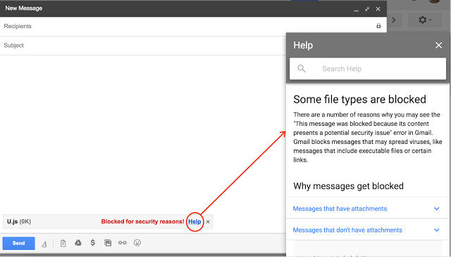 Gmail won't allow JavaScript file attachments starting February 13