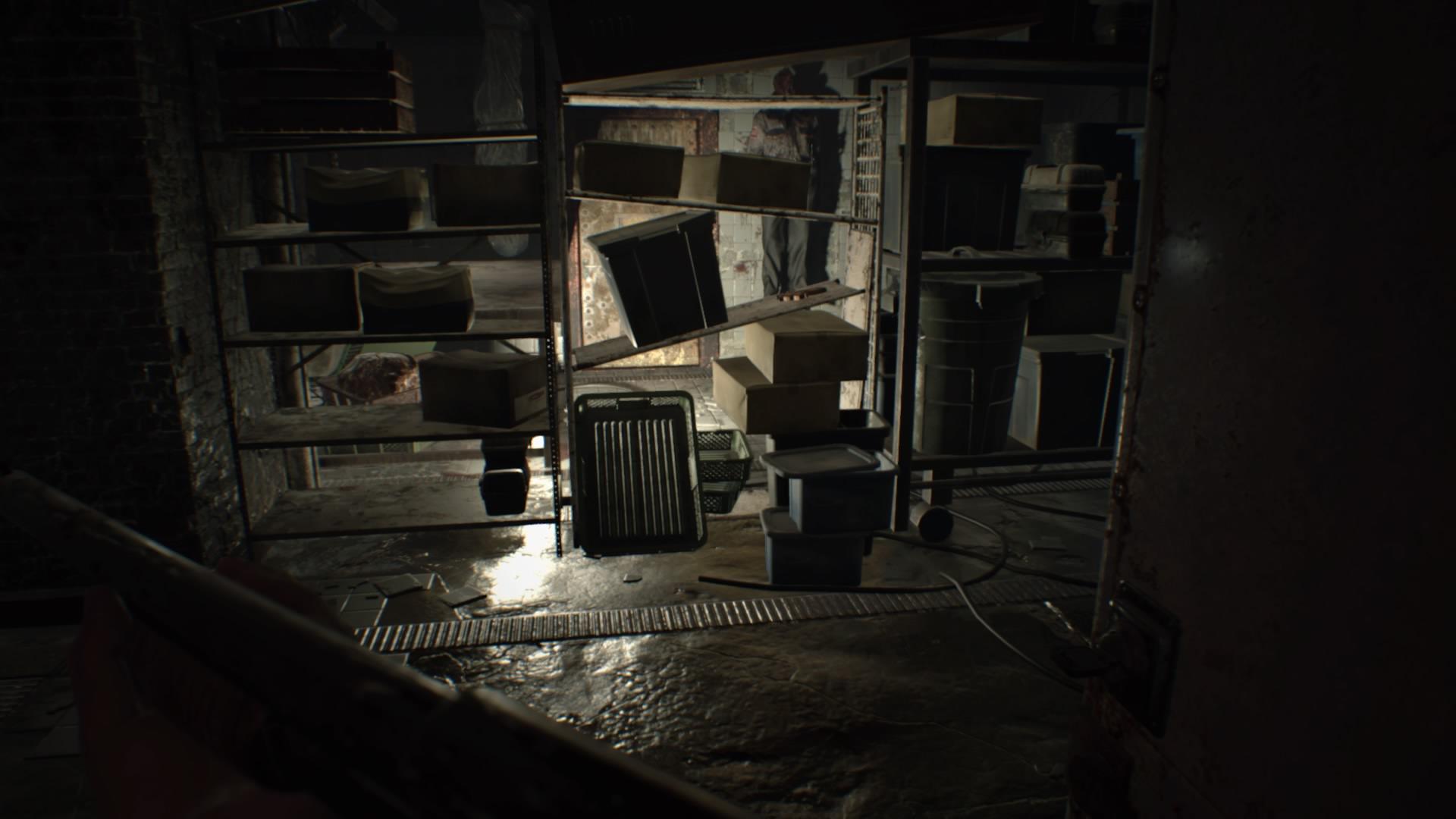 Resident Evil  Dogs Head Boiler Room